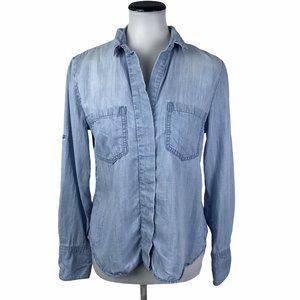 Cloth & Stone Lyocell Button Down Shirt #196